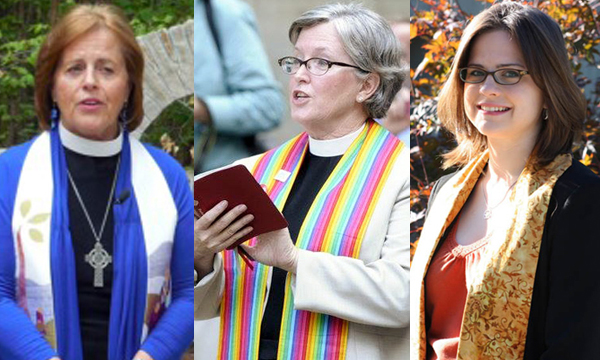 Rev. Nancy Allison, Rev. Nancy Kraft and Rev. Robin Tanner continue to be supportive of the LGBT community. All of the ministers were part of a suit that was filed that petitioned for the right for same-sex couples to marry. It won in 2014. Photo Credits: church photo archives