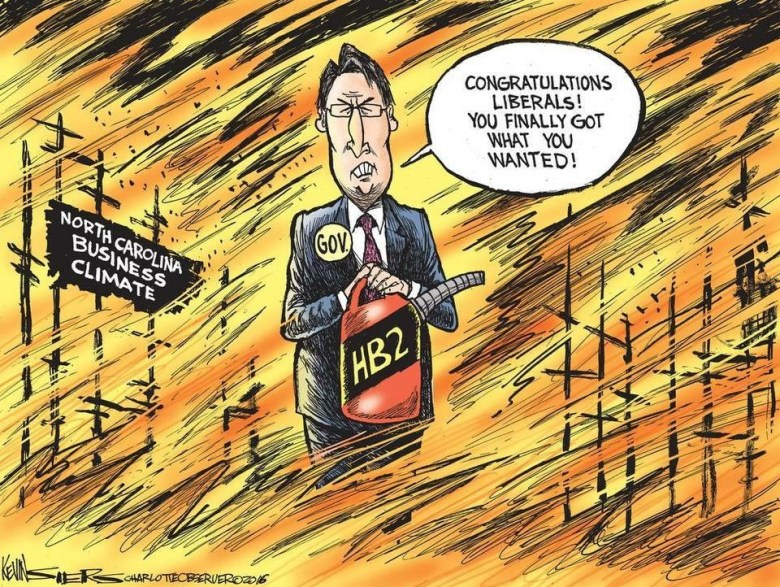 kevin siers political cartoon hb2