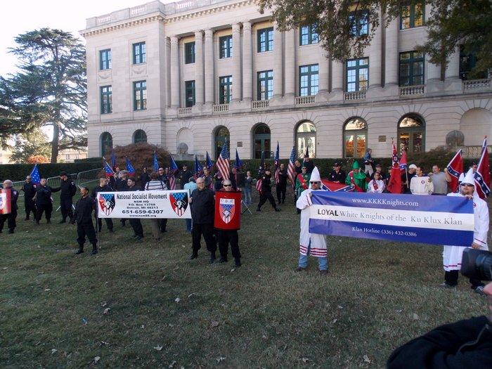 KKK rally Charlotte