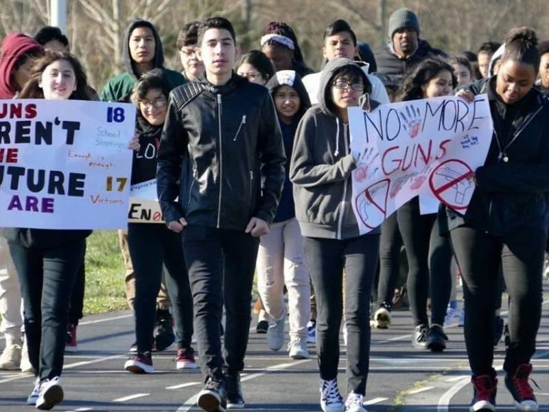 national walkout charlotte