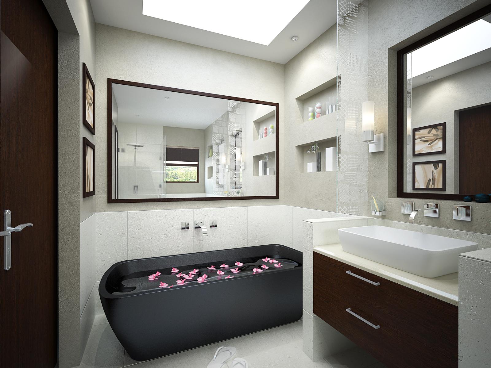 The Top 20 Small Bathroom Design Ideas for 2014 - Qnud on Contemporary Small Bathroom Ideas  id=49479