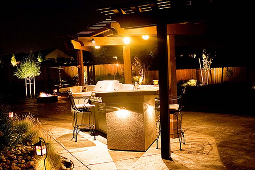 patio barbeque lighting 6737