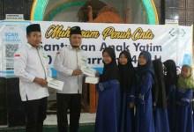 Photo of Lembaga Amil Zakat Lazisnu NTB Santuni Anak Yatim.