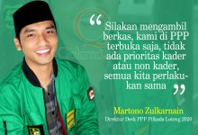 Photo of PPP Buka Pendaftaran Cabub Cawabup Loteng, Yakinkan Peserta Tak Ada Prioritas Kader