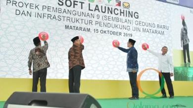 Photo of Gubernur dan Menag Resmikan Sembilan Gedung Baru UIN Mataram