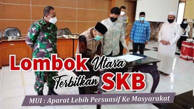 Photo of Teken SKB Ibadah Ramadhan, MUI KLU Pesan, Aparat Lebih Humanis dan Persuasif