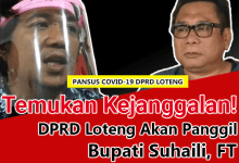 Photo of Anggaran Covid-19 Loteng Janggal, DPRD Akan Panggil Bupati Suhaili