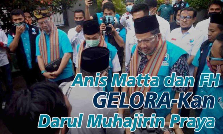 Photo of Ketua DPP Partai Gelora Anis Matta Silaturrahim Ke Muhajirin Praya