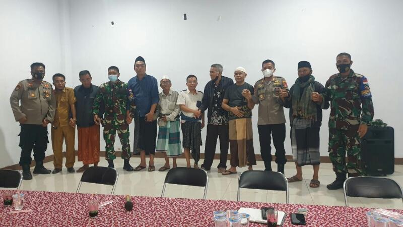 Masyarakat Desa Rambitan - Ketara sepakat akhiri konflik