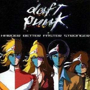 Daft Punk Harder Better Faster Stronger + Remix & Live Version