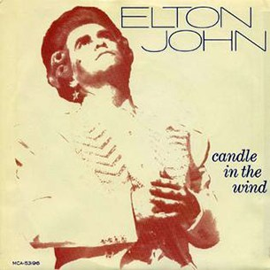 Elton John Candle In The Wind / Goodbye England's Rose