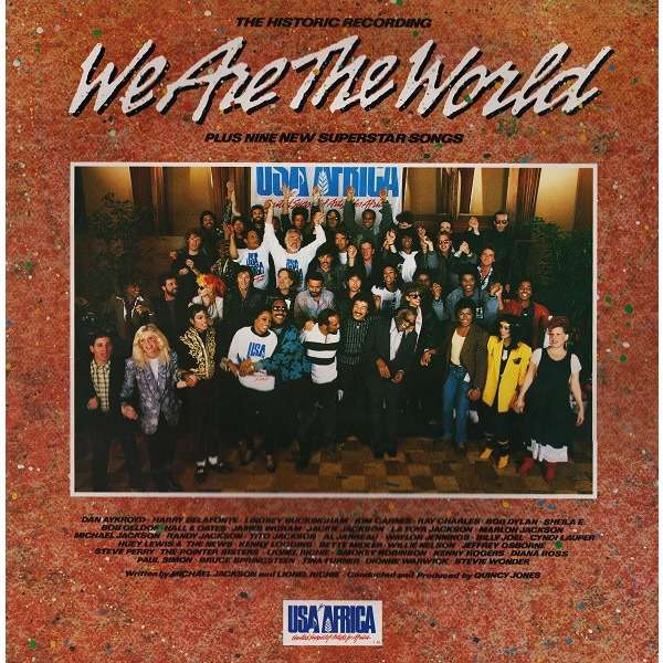 USA for Africa We Are the World / We Are the World 25 for Haiti