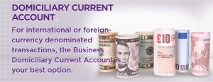 Domiciliary Business Current Account