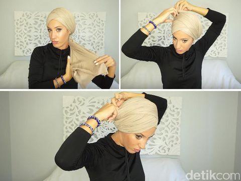 tutorial hijab keempat