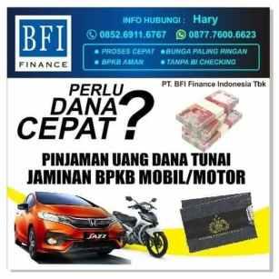 Gadai BPKB Motor Online