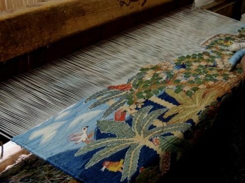 Carpet on the loom2