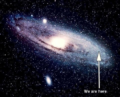 How big is our solar system compared to our galaxy? - Quora