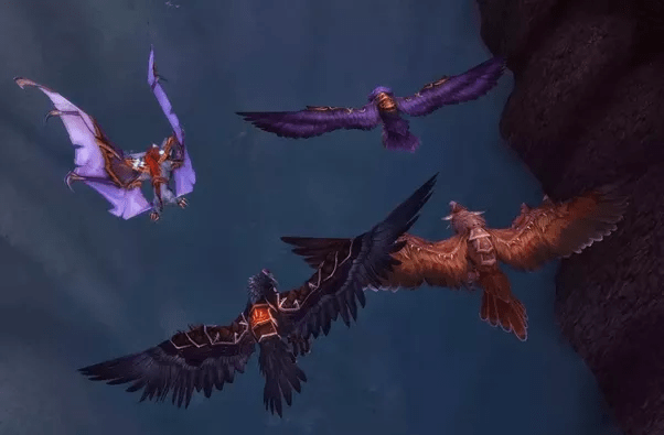 What Is The Flight Form Of A Druid In World Of Warcraft