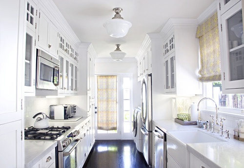 best lighting for a galley kitchen