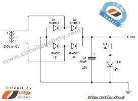 What ponents to use to make AC to DC full bridge rectifier with capacitance?  Quora