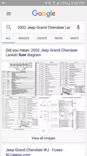 Where can I find the fuse diagram for my 2002 Jeep Grand