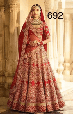 How much does a sabyasachi bridal lehenga cost    Quora This will not cost you more than 5000 INR if you buy directly from  supplier  Yes  you read it correctly not more than 5000 INR