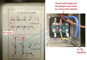 How to reverse the rotation of single phase 220v motor  Quora