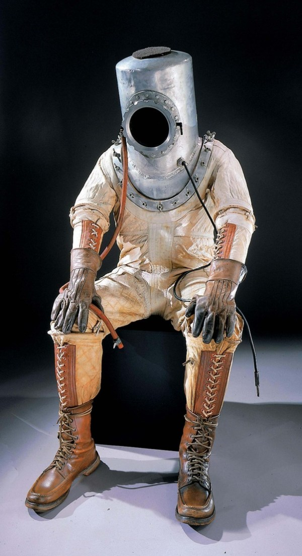 When NASA made the first space suits how did they know