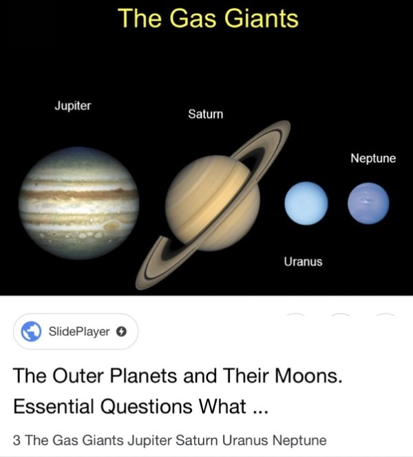 Why do gas giants often have dozens of moons? - Quora