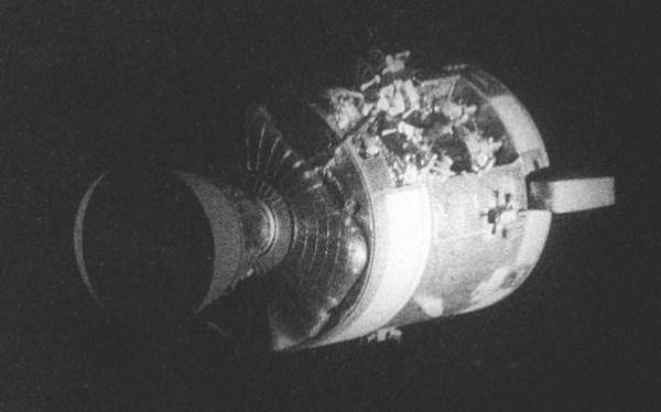 Did the Apollo 13 explosion alter the spacecraft's ...
