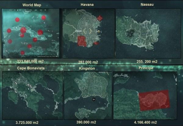 Is Assassin's Creed Rogue Map bigger than Black Flag? - Quora