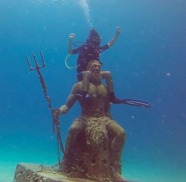 What would you do if Poseidon appeared to you (and proved ...