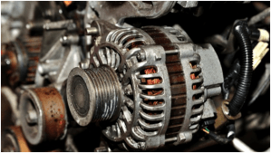 How to replace the pulley bearings of an alternator of my car? Is it possible to replace only