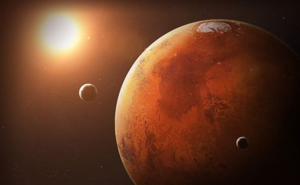 Why is Mars a red planet? - Quora