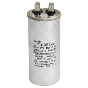 Can bulky old style capacitors of table fan be replaced by the small new style capacitors of