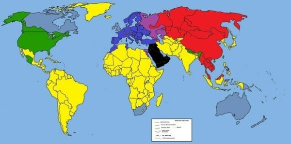 What would a political world map look like in 50 years ...