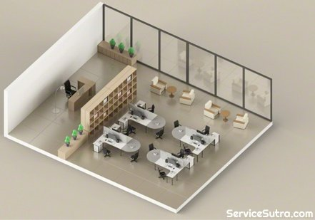 What is the rate of designing an office interior project ...