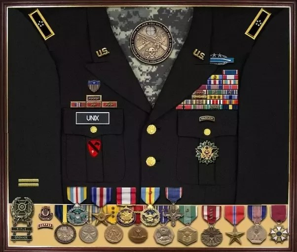 if i was in the navy and earned medals