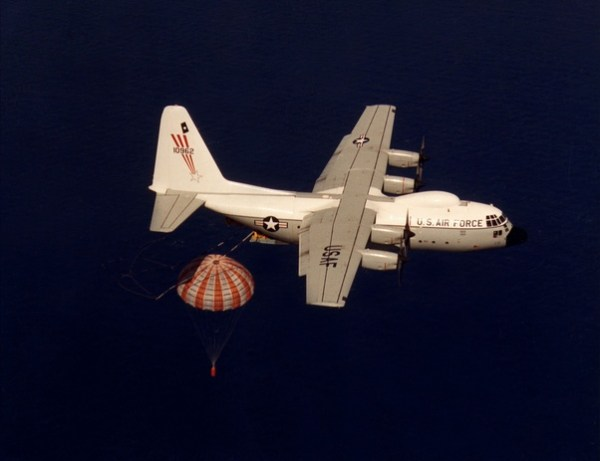 How are images from film-based spy satellites transmitted ...