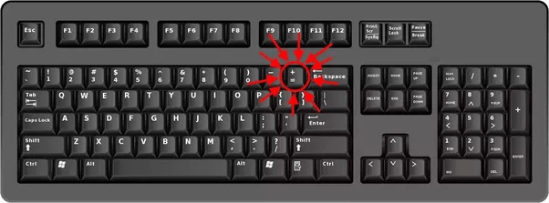 How To Make An Equal Sign On A Keyboard Quora