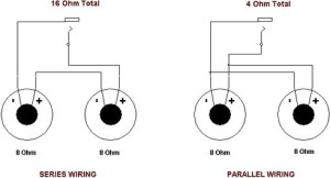What diagram do I use to have four 8ohm speakers with a 4ohm receiver?  Quora