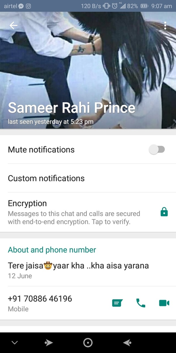 On WhatsApp, how do you know if someone is online without checking their text? - Quora