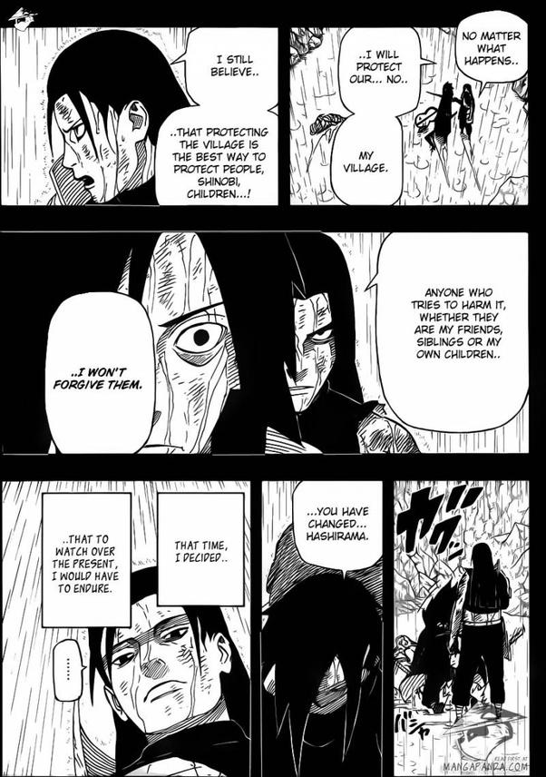As the story proceeds, madara meets his friendly rival hashirama. Why did Hashirama kill Madara even though Hashirama is a ...