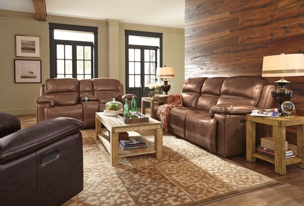 What is rustic style in interior    Quora Flexsteel Fenwick Leather Power Reclining Sofa   Homemakers Furniture
