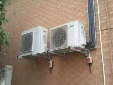 can the outdoor unit of air conditioner