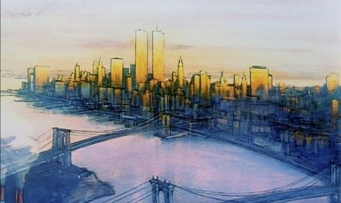 Who are artists who painted or are painting NYC cityscapes  scenes     As a child this movie really made me want to visit NYC   My parents were  nice enough to actually take me there  which was cool