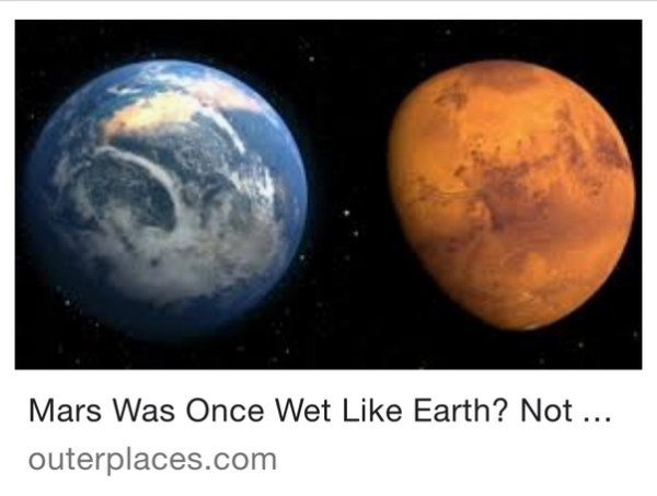 What are the similarities between Earth and Mars? - Quora