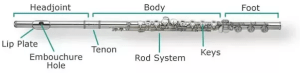 What are the parts of a flute?  Quora