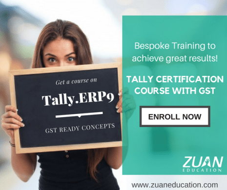 What is the scope and benefits of Tally ERP 9    Quora If you re looking to learn the latest version of Tally ERP 9  get in touch  with Zuan Education in Chennai as they are one of the best institutes to  offer