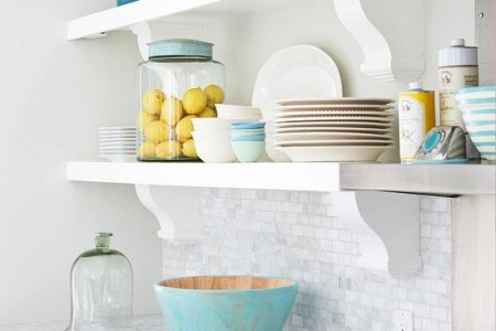 How to save counter space in a small kitchen   Quora Shelving is definitely your friend when it comes to saving space  If you  don t have a lot of shelving  see if you have the ability to add more